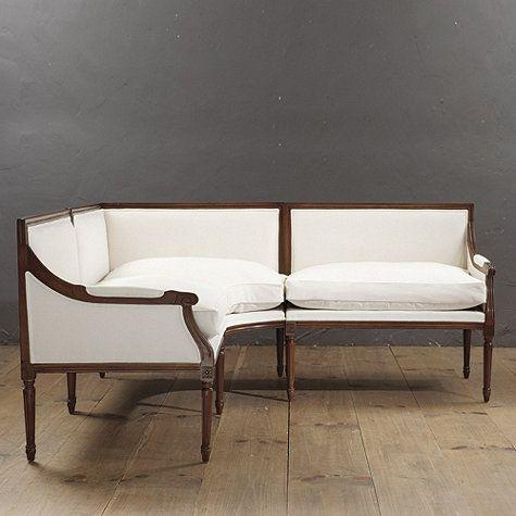 Louis 3 Piece Sectional   Ballard Designs   $2800 $3970