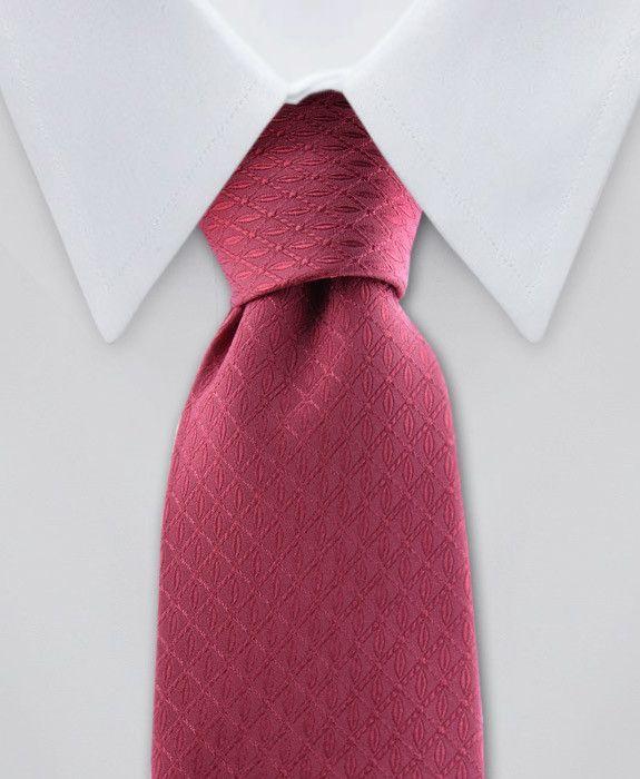 9d057b0729e7 Boy's Coral Silk Tie | Fashion Accessories - Men & Women | Tie, Silk ...