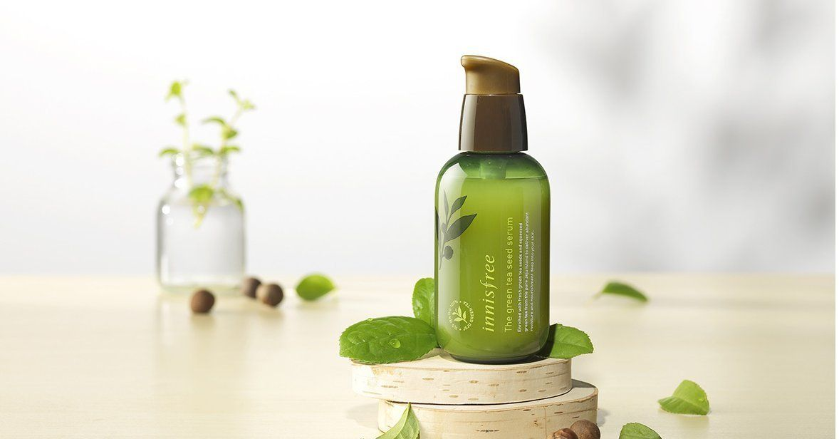 KOREAN COSMETICS, Innisfree, The green tea seed serum 80ml (water, nutrition, Essence, moisturizing strengthening)[001KR] by Innisfree: Amazon.de: Beauty