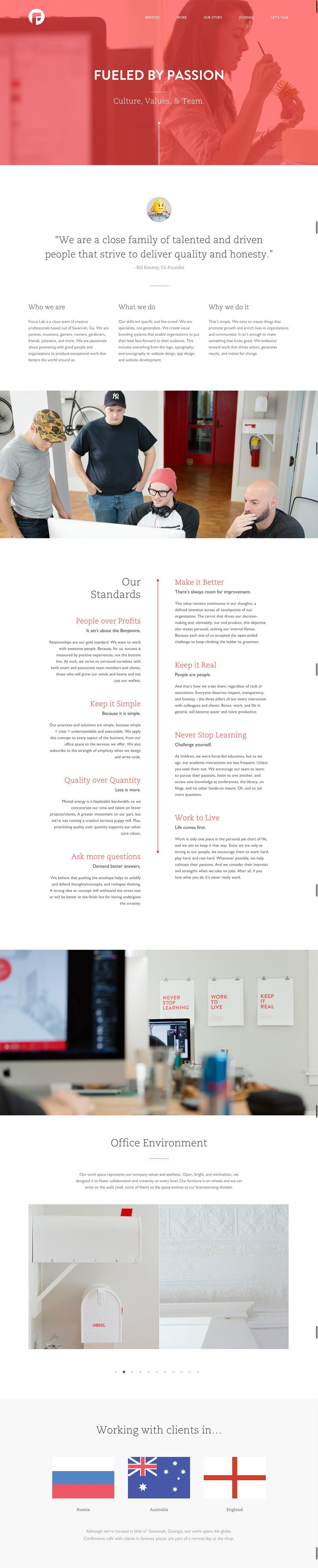 50 Of The Best About Us Pages To Inspire You Learn About Us Page Design About Us Page Website Design Layout