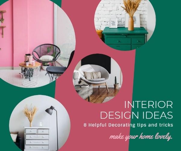Want To Make An Online Interior Design Ideas Facebook Post Design