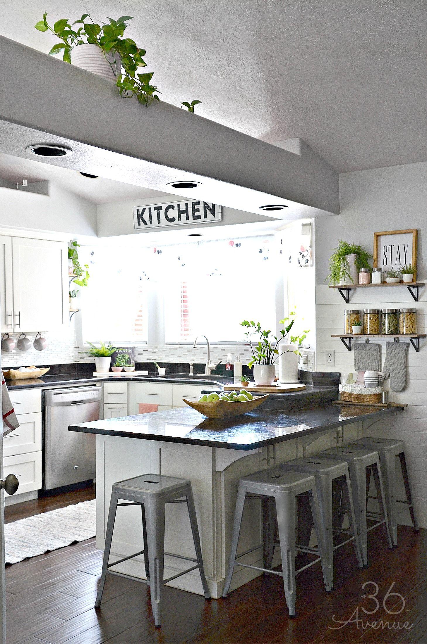 White Kitchen - Pink Kitchen Decor | Cocinas, Rusticas y Diseño de ...