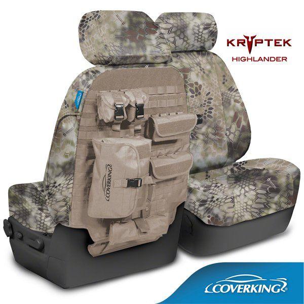 Coverking Kryptek Camo Tactical Seat Covers
