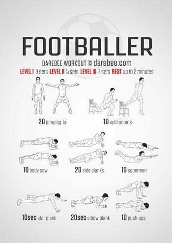 Visual Workouts Football Workouts Soccer Workouts Superhero Workout