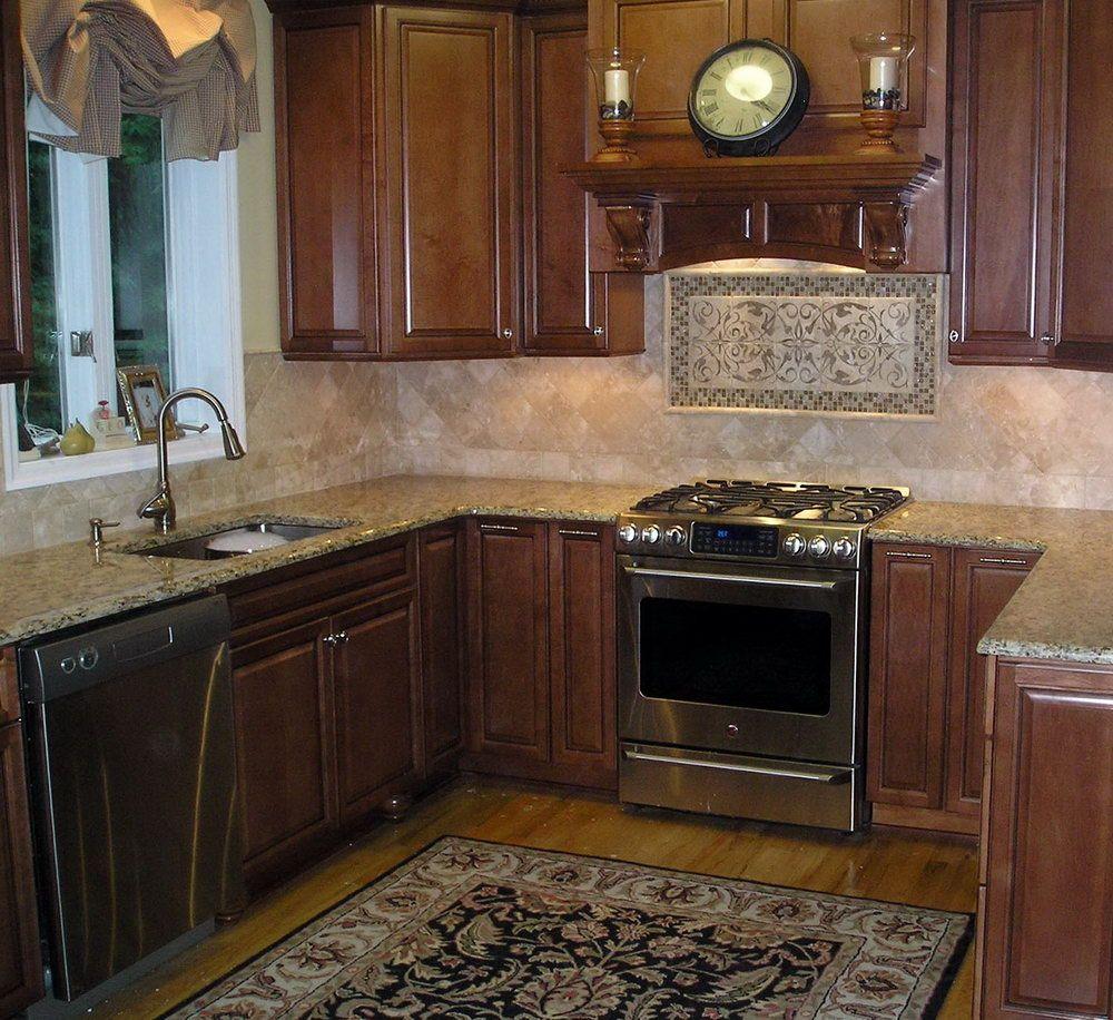 kitchen stone backsplash ideas tile home design Home Design