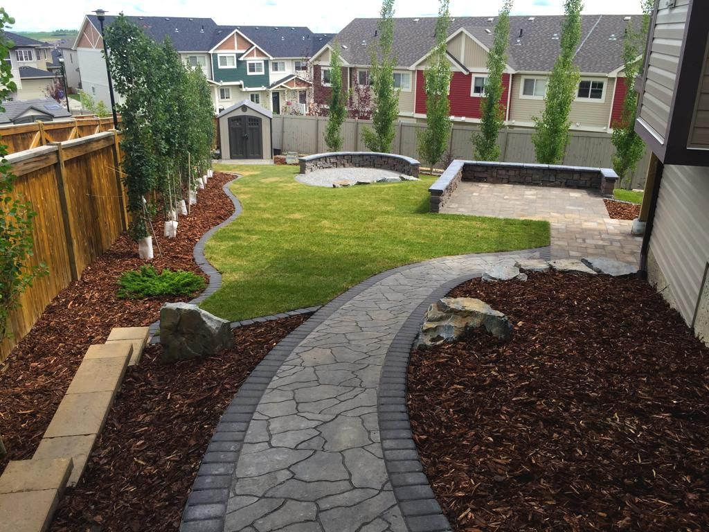 Aesthetic Paver Stone We specialize in building paving stone patios, pathways, fire pits and  driveways in Calgary. They are clean, classy, functional, timeless, and  aesthetic.