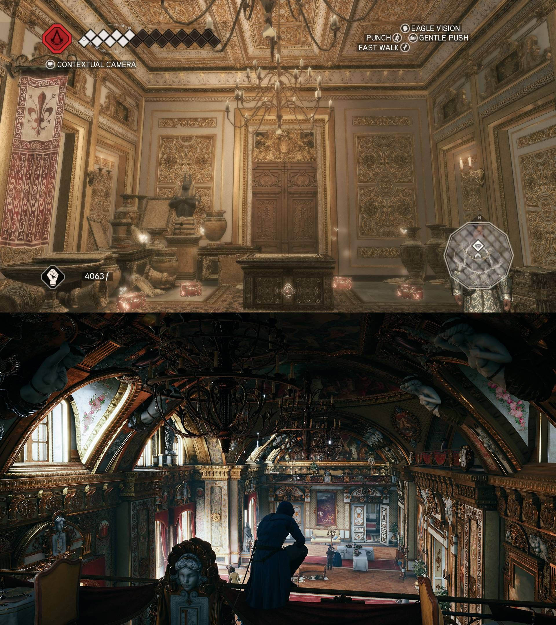 [AC II and AC Unity] 5 years of graphical progress