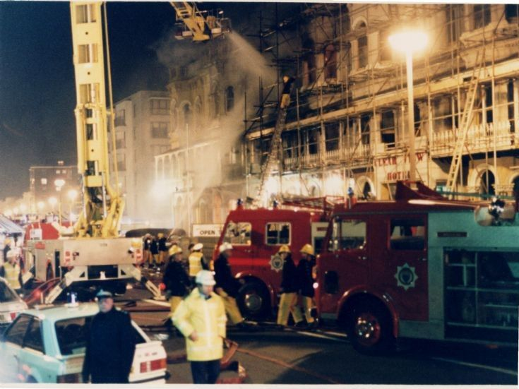 Clearview Hotel Fire Worthing Seafront April 2nd 1987