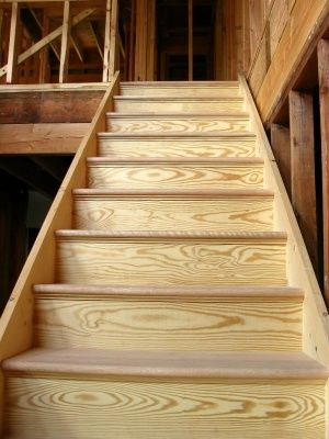 How To Build Wood Stairs See Wood Railing At Http://awoodrailing.com