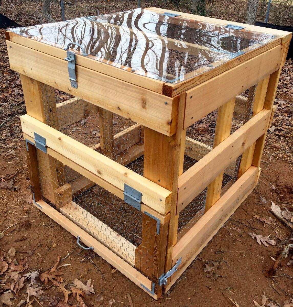 Building A DIY Garden Compost Bin | Garden compost, Composting and ...