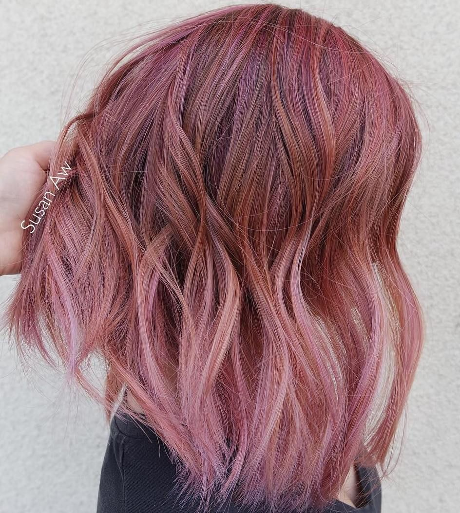 pink hairstyles as the inspiration to try pink hair ombre bob