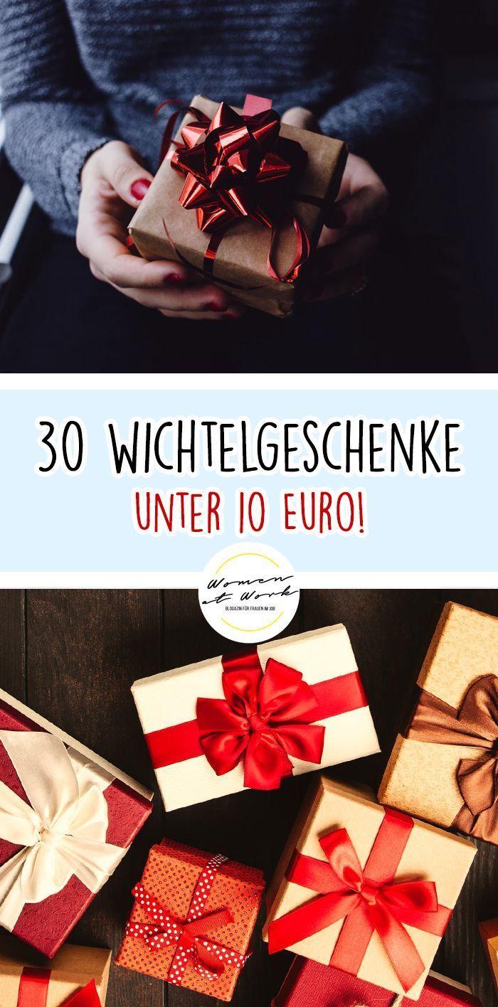 30 einzigartige Wichtelgeschenke (Unter 10 €!)