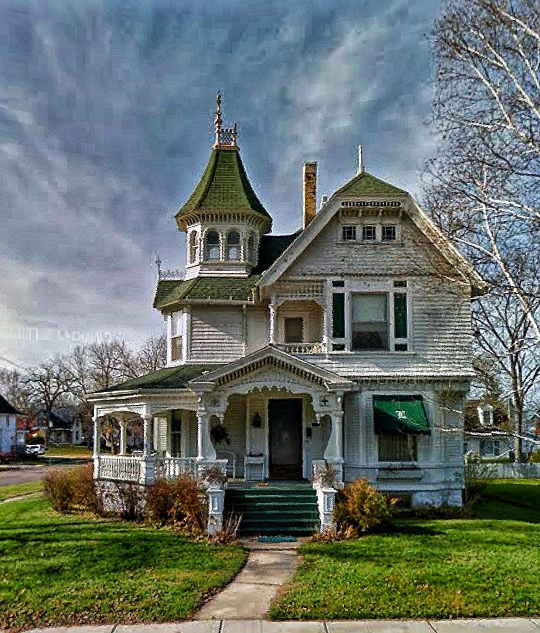 Pin By Boulo Seto On 0 0 Victorian Houses Victorian Homes Victorian Style Homes Architecture House