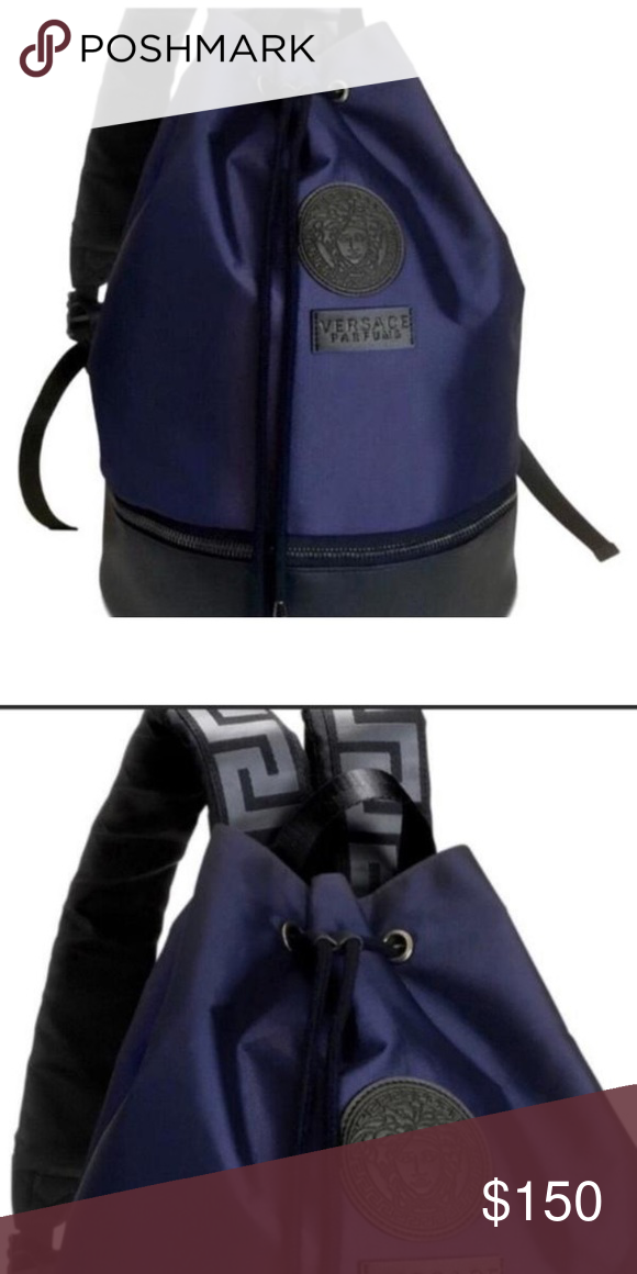 Versace Backpack Brand New Versace Parfum Backpack From Beauty