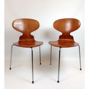 Chaise Fourmi Arne Jacobsen 1952 Design Market Chaise Fourmi Chaise Arne Jacobsen
