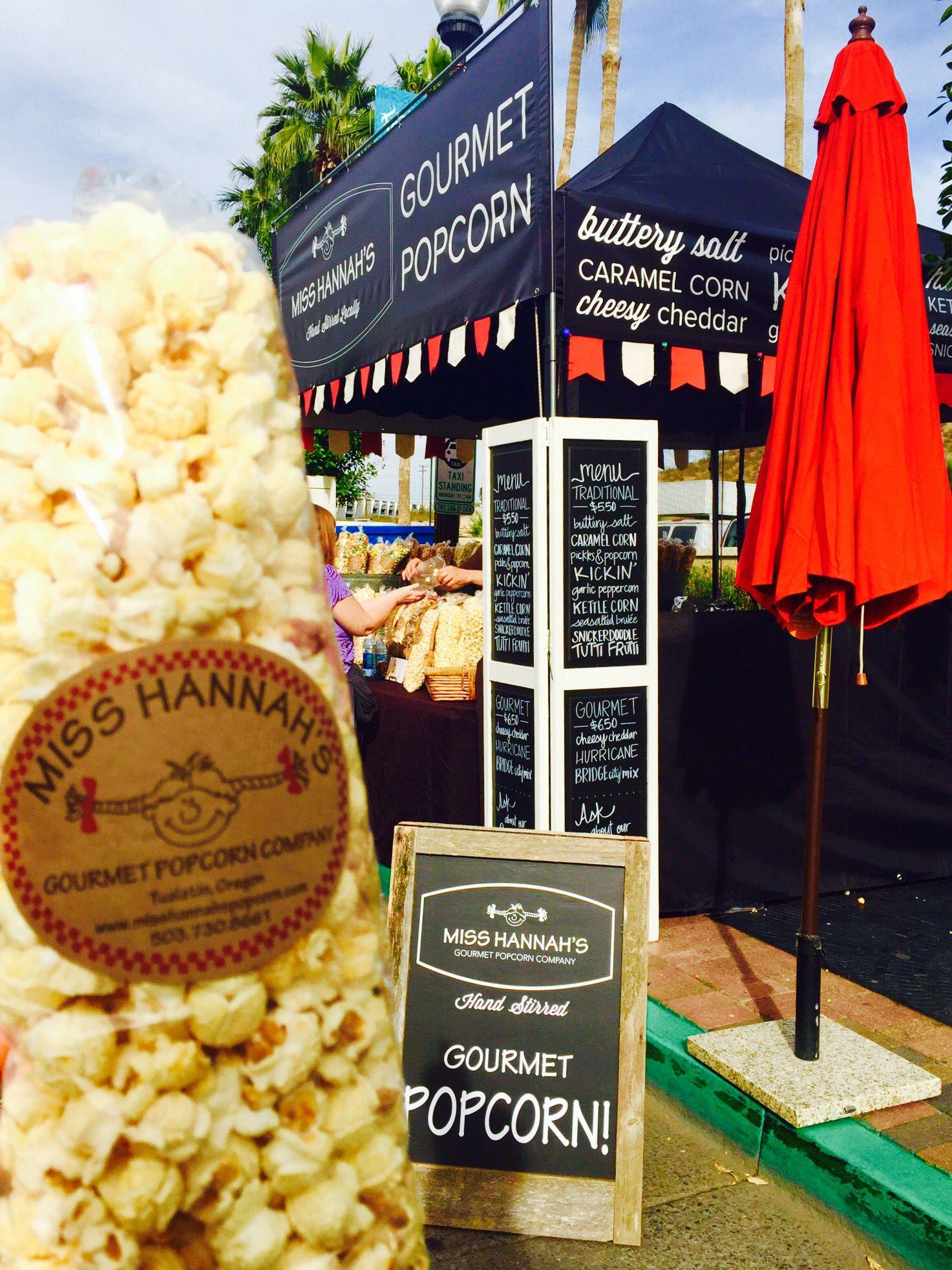 New look Miss Hannah's Gourmet Popcorn Co.
