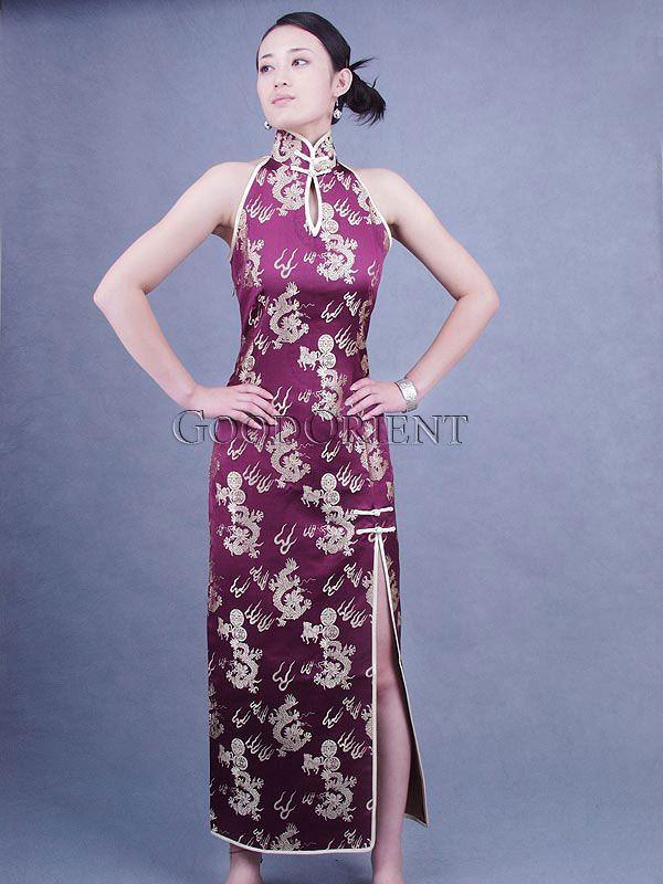 Purple Dragon Dress   Random   Pinterest   Dragons, Silk brocade and ...
