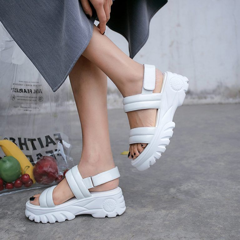 Chiko Pippa Open Toe Flatforms Sandals