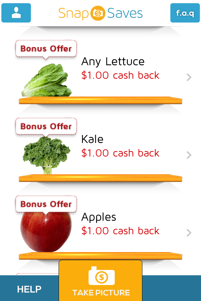 How to Get free Produce using phone rebate Apps in Canada