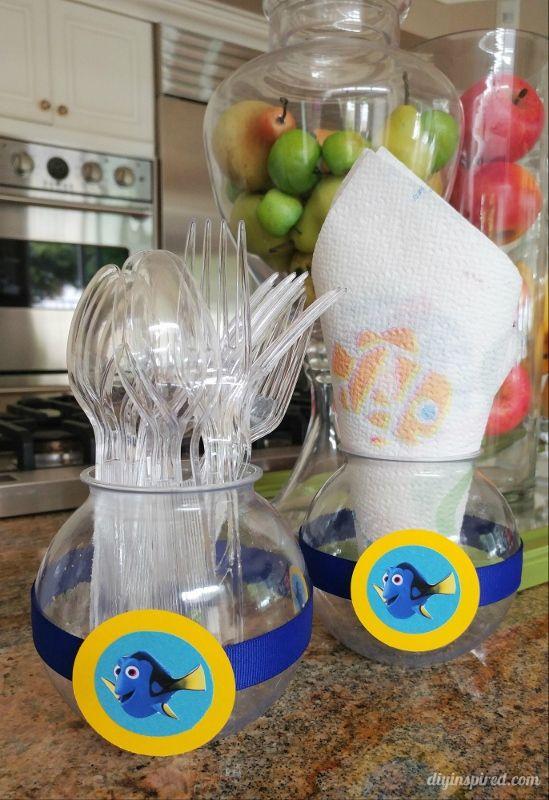 ideas para decorar fiesta de cumpleaos de buscando a dory