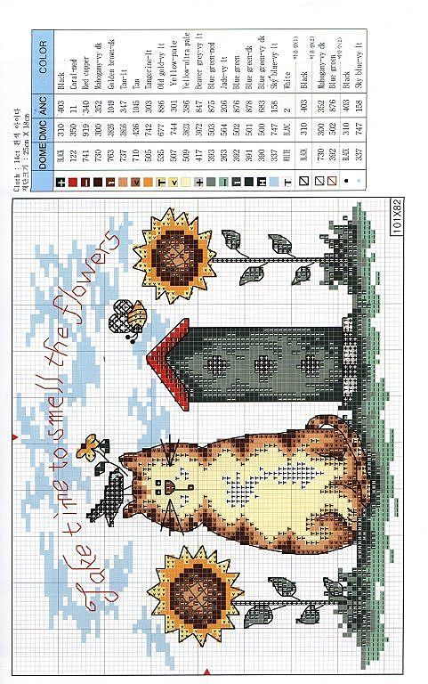 Cross stitch patterns (Part 2) (p 124.) | Learn crafts is facilisimo.com