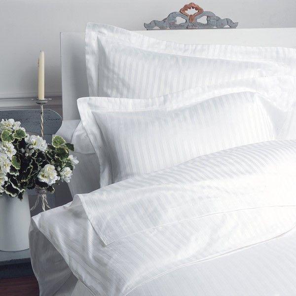 Duvet Cover 1cm Satin Stripe Bed Linen Bed Linens Luxury Striped Duvet Covers Striped Bedding