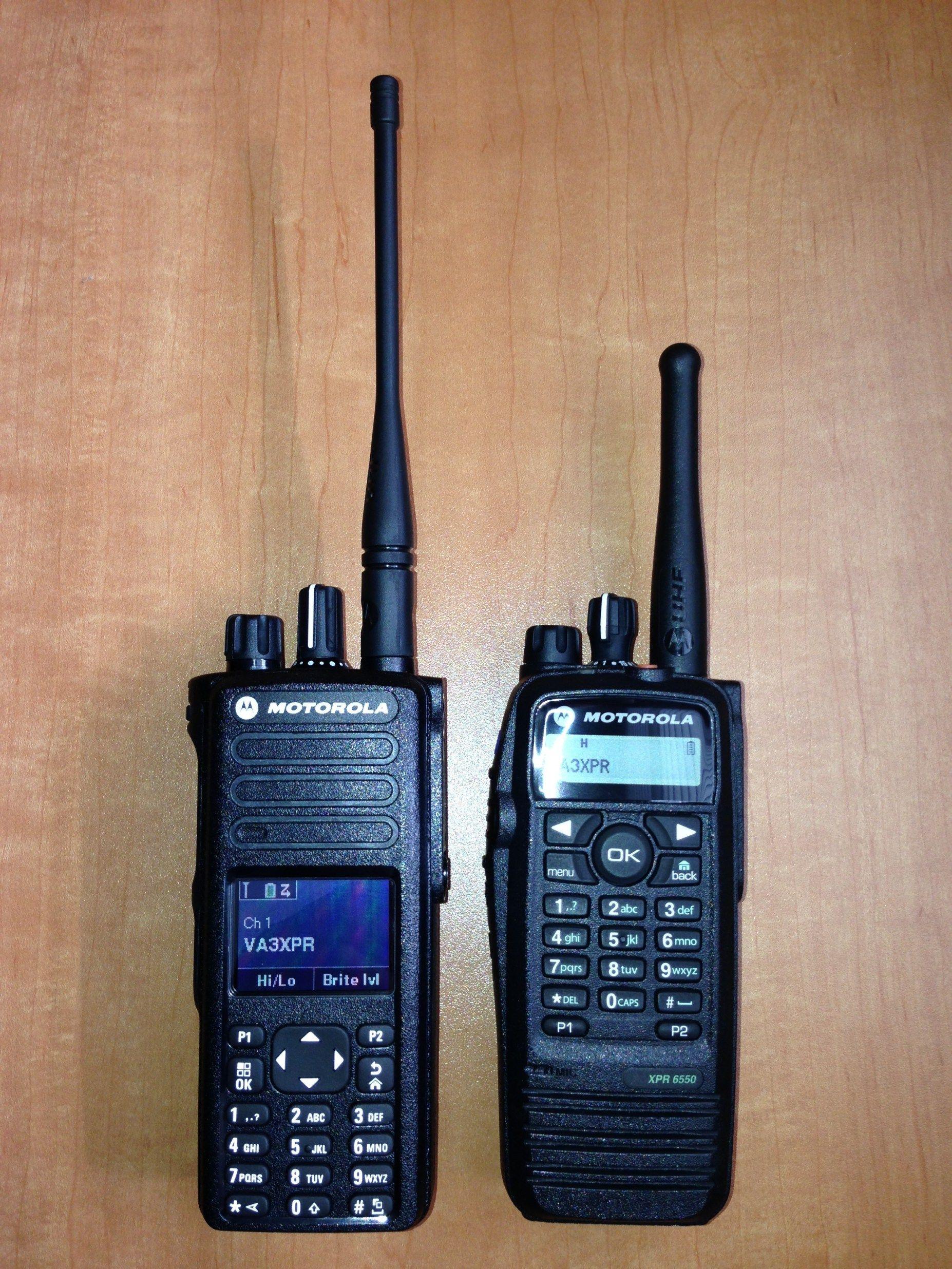 VA3XPR, Motorola, MOTOTRBO, XPR7550, XPR6550, XPR 6550, XPR