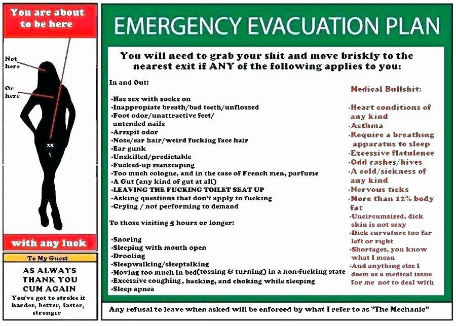 40 Emergency Evacuation Plan Template in 2020 Emergency