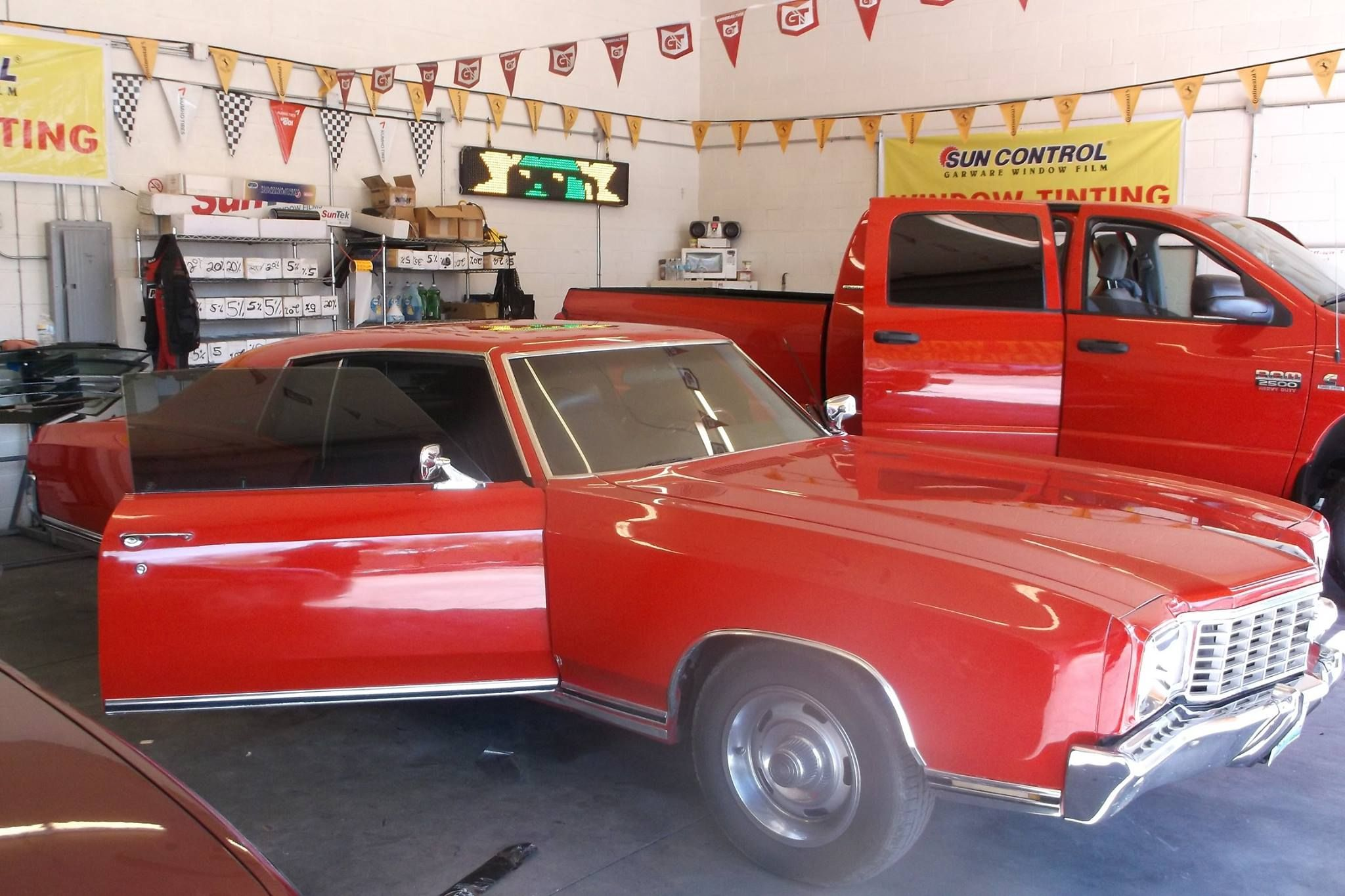 Window Tint - Classic Car   Premier Window Tint - Las Vegas ...