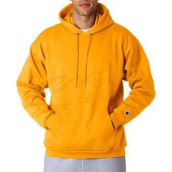 Champion Double Dry Men`s Action Fleece Pullover Hood Black