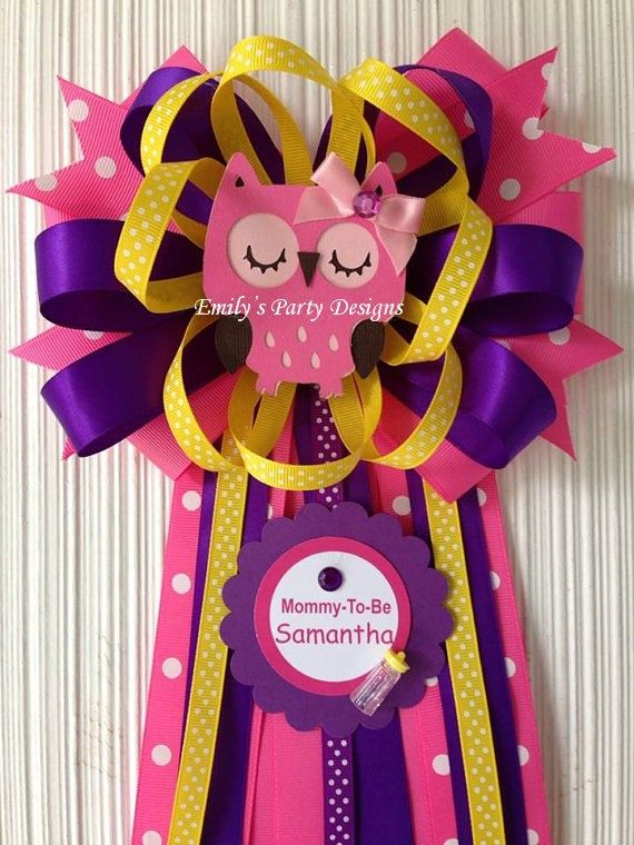 owl mommytobe baby shower corsage owl corsage mommy to be corsage baby shower corsage