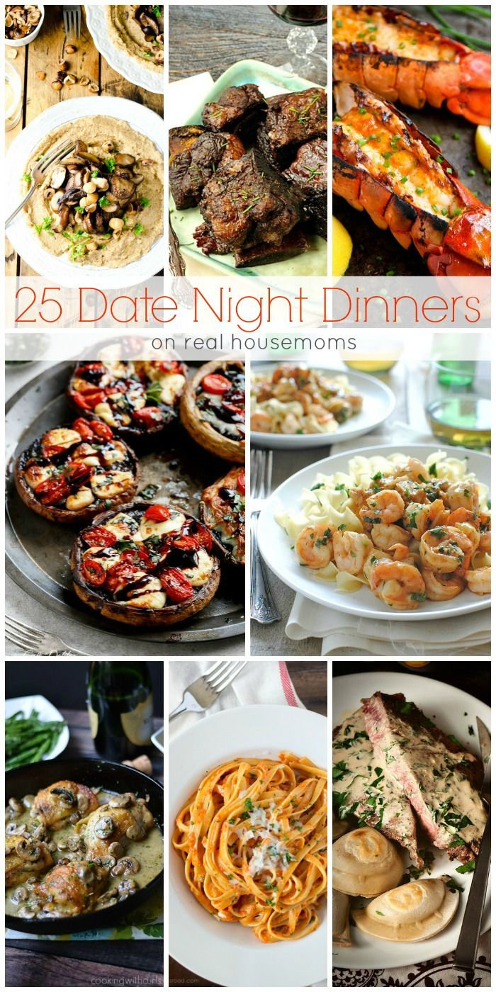Romantic Foods For The Bedroom: We Love These 25 DATE NIGHT DINNERS For A Fun Date-night