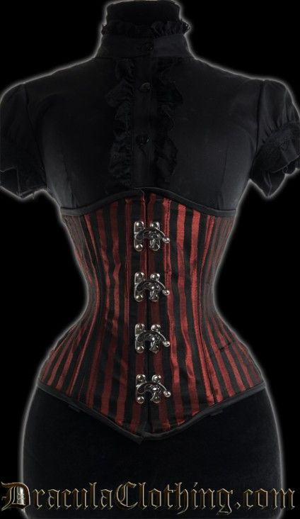 9b8197a3fe Clothing · Red Stripes Extreme Waist Corset