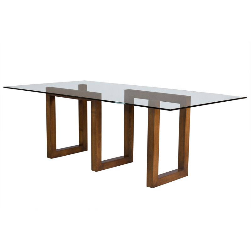 Saloom Furniture Serpent Dining Table Glass Top In 2020 Glass