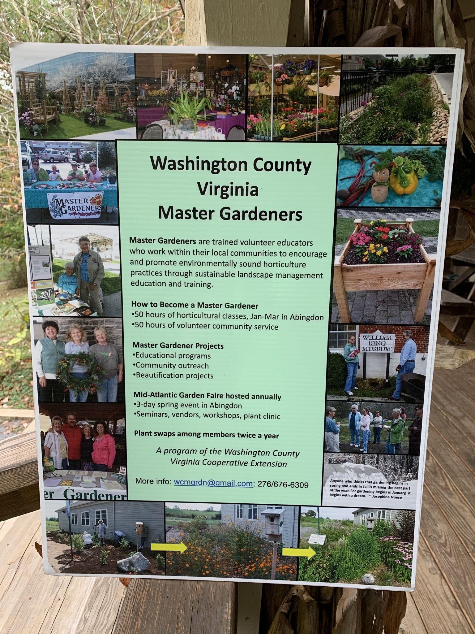 4a79a690b7c724e5d9e46b427e686859 - Washington County Master Gardeners Plant Sale