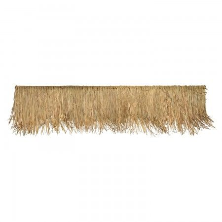 Hoe Bouw Je Een Bamboe Pergola Thatched Roof Roof Panels Bamboo Roof