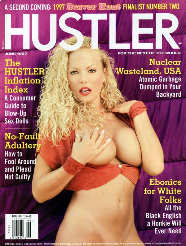 Hustler all sex issue march 2018