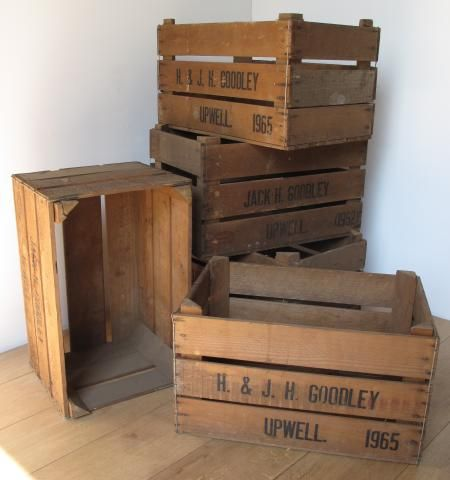 Interiors Trainspotters Industrial Vintage Lighting Old Crates Crates Diy Projects