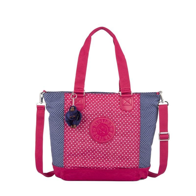 b1fe6088d Bolsa de ombro Shopper Combo estampada Dot Pink Kipling   Kipling ...