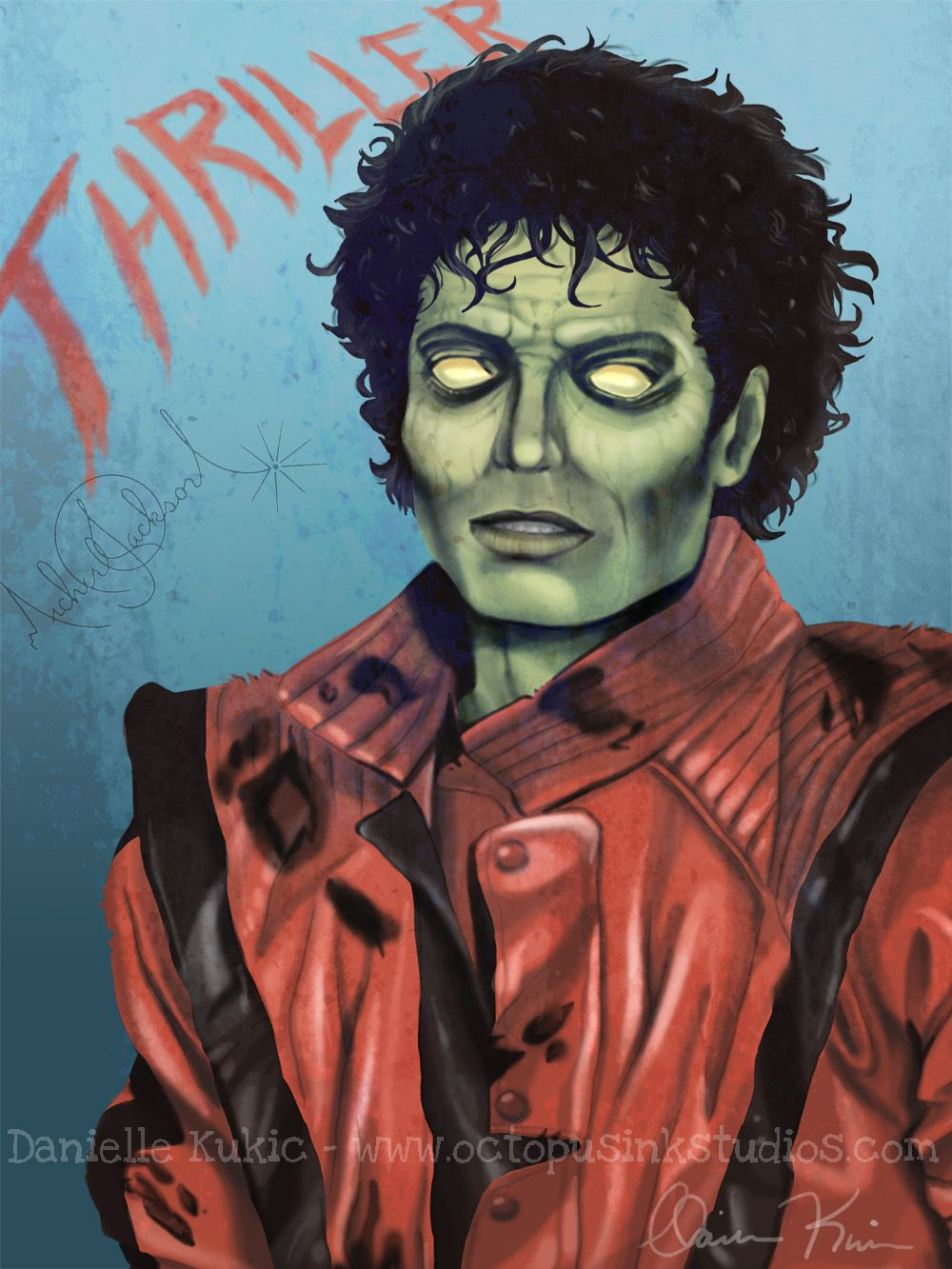 Michael Jackson Thriller Drawing : michael, jackson, thriller, drawing, Thriller, Zombie, Michael, Jackson, Images, Wallpapers, Zombie,