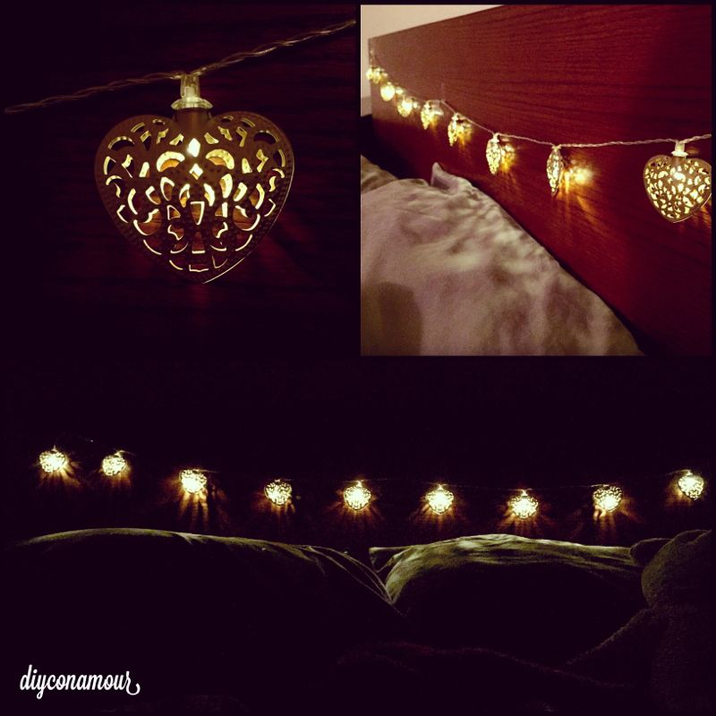 string of whimsical lights vday decor con todo mi corazon