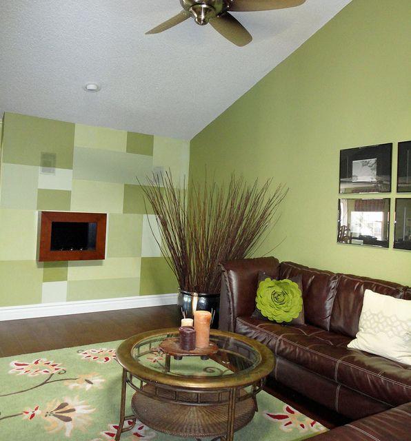 Scottsdale Interior Design-Creative Paint Treatment-Focal Wall