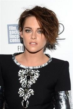 Kristen Stewart at the premiere of Clouds of Sils Maria at the New York Film Festival