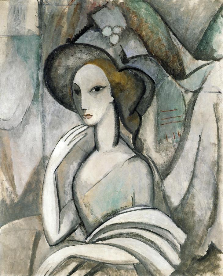 Marie Laurencin French 1883 1956 La Poetisa Marguerite Gillot