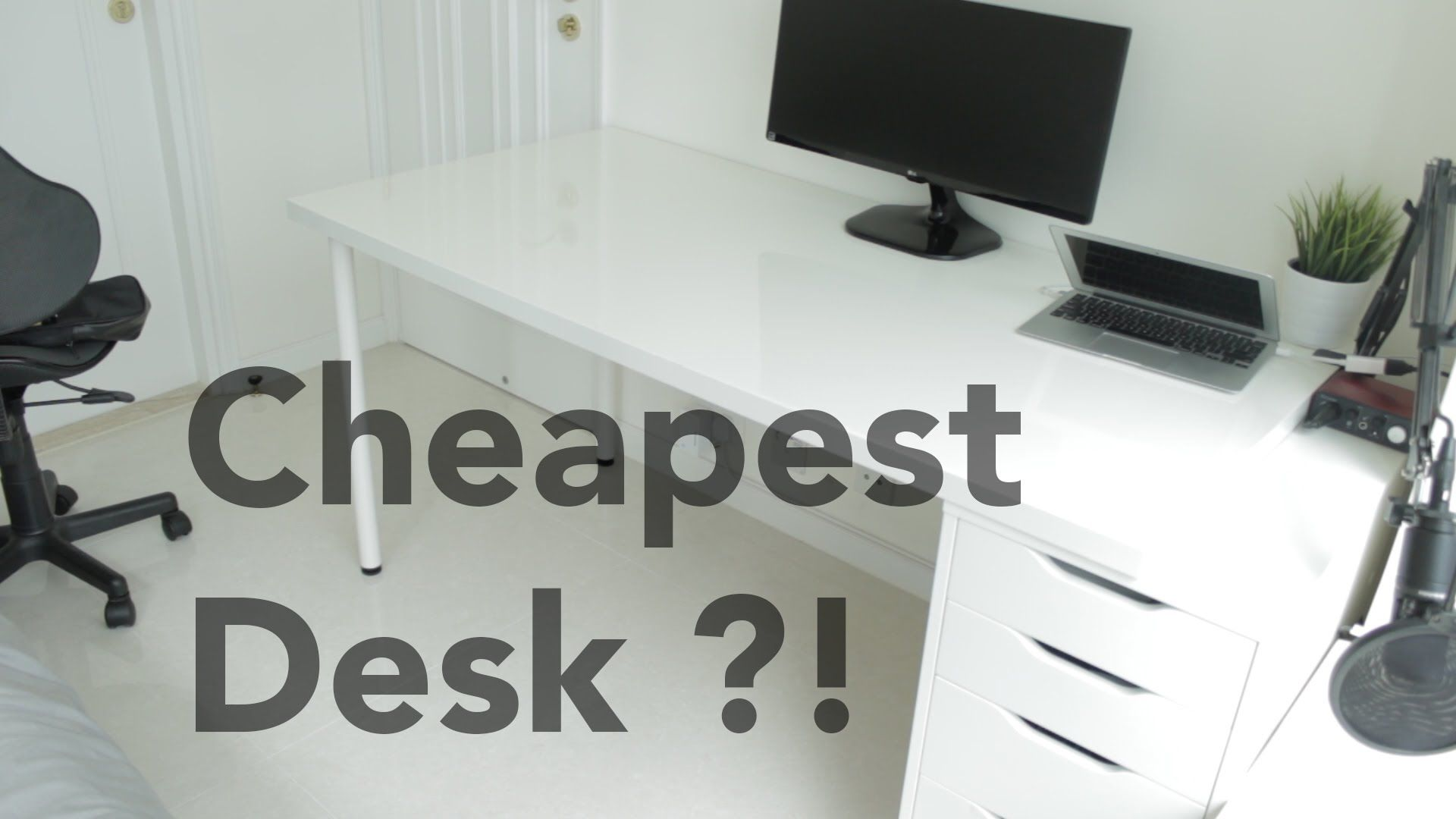 Ikea Linnmon Alex Desk Review 2016 10 16