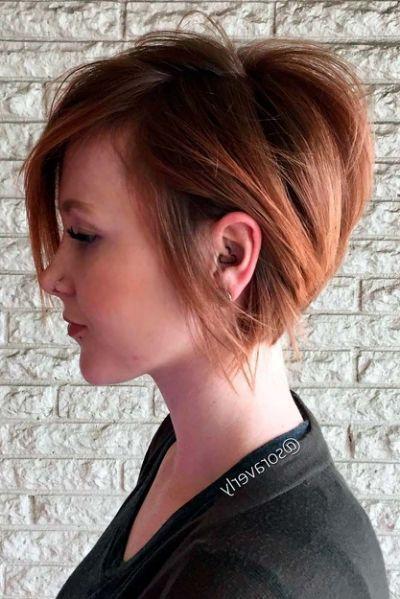 25 Unique Short Haircuts Ideas Rambut Ide Model