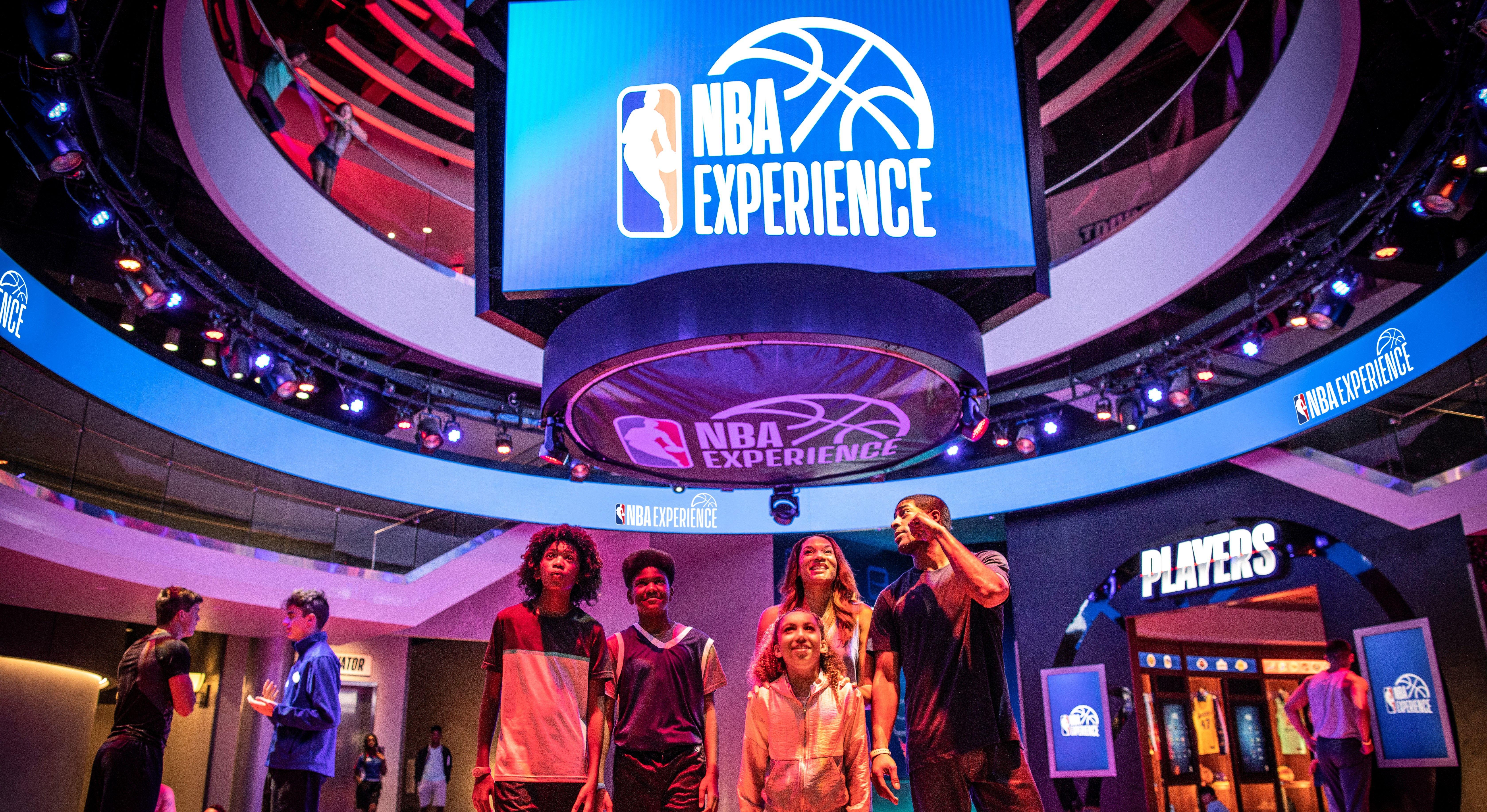 NBA experience Walt Disney World