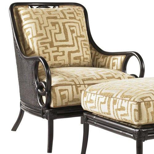 Tommy Bahama Home Royal Kahala Sumatra Exposed Wood Chair