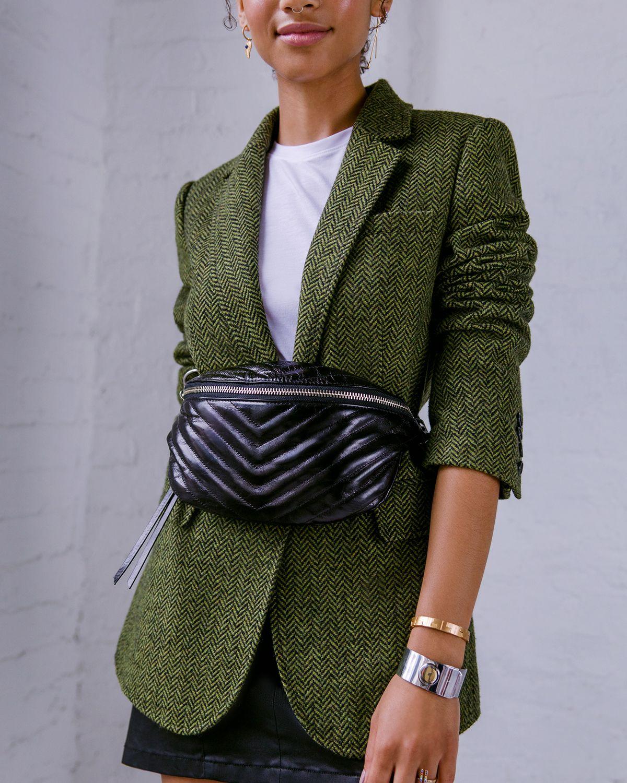05aa8788e Merilee Jacket and Edie Belt Bag   Rebecca Minkoff, work blazer ...