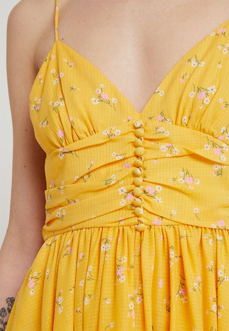 a8f6ec2bc Bec & Bridge MARIGOLD FIELDS DRESS - Maxi šaty - yellow - Zalando.cz ...